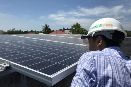 điện năng lượng mặt trời hòa lưới